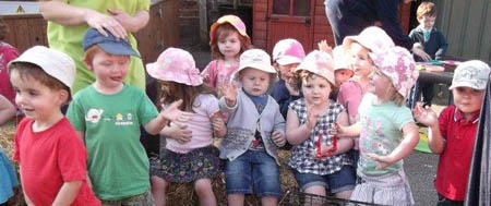 Fishers Mobile Farm @ Busy Bodies Nursery in Euxton