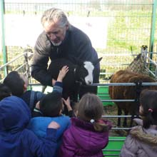 Fishers Mobile Farm at Spotland Primary School