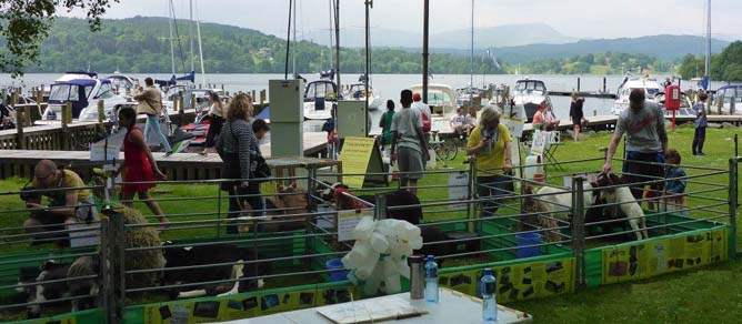 Whitecross Bay Family Fun Day at Troutbeck Bridge, Cumbria