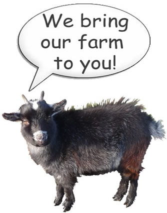 Fishers Mobile Farm - we bring our farm to you!